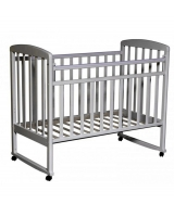 Кровать Антел Алита, цвет: серый