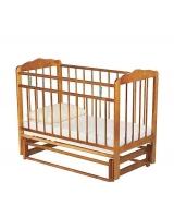 Кровать-качалка ИП Смирнов Женечка-5, цвет: светлый