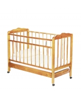 Кровать-качалка ИП Смирнов Женечка-2, цвет: светлый