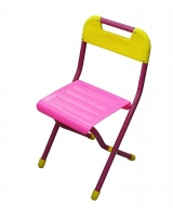 Стул детский складной Дэми, цвет:розовый