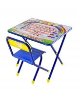 Набор детской мебели Дэми Алфавит, цвет: синий