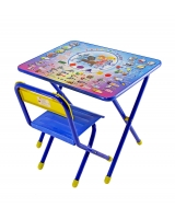 Набор детской мебели Дэми Электроник, цвет: синий