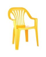 Детский стул Бытпласт, цвет:Желтый