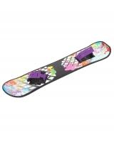 Пластиковый сноуборд с облегчённым креплением
