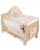 Манеж-кровать Capella S10-6, цвет: бежевый