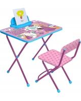Набор мебели Ника Детям Disney 1. Рапунцель, цвет: розовый