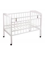 Детская кровать Женечка-1, цвет: белый