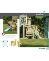 Опция Платформа к детской игровой площадке Blue Rabbit